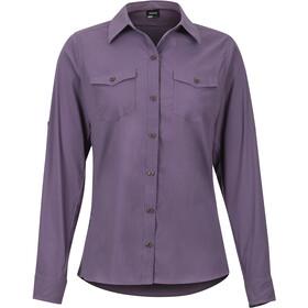 Marmot Annika T-shirt à manches longues Femme, vintage violet